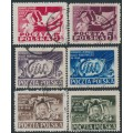 POLAND - 1948 Reunification Congress set of 6, used – Michel # 505-510