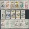 POLAND - 1957 90Gr to 50Zł Airmail set, MNH – Michel # 1035-1040 + 1080-1084 + 1101Zf