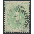 AUSTRALIA - 1902 4d emerald-green Postage Due, blank base, used – SG # D5