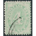 AUSTRALIA - 1907 4d light green Postage Due, perf. 12:11, upright watermark, used – SG # D49