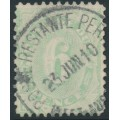 AUSTRALIA - 1908 6d light green Postage Due, perf. 12:11, upright watermark, used – SG # D50