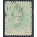 AUSTRALIA - 1902 2d emerald Postage Due, blank at base, used – SG # D3