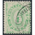 AUSTRALIA - 1908 6d green Postage Due, perf. 11½:11, upright crown A watermark, used – SG # D50