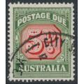 AUSTRALIA - 1959 5d carmine/deep green Postage Due, die II, no watermark, used – SG # D136a