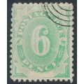 AUSTRALIA - 1902 6d emerald-green Postage Due, blank base, CTO – SG # D6