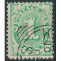 AUSTRALIA - 1902 1d emerald Postage Due, perf. 11:11½, upright watermark, used – SG # D23