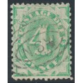 AUSTRALIA - 1903 4d emerald Postage Due, perf. 12:11, inverted watermark, used – SG # D26