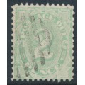 AUSTRALIA - 1906 2d light green Postage Due, perf. 12:11, crown single-lined A watermark, used – SG # D47