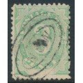 AUSTRALIA - 1902 3d emerald Postage Due, blank at base, used – SG # D4w