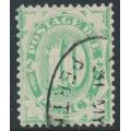 AUSTRALIA - 1902 10d emerald Postage Due, perf. 11½:12, upright watermark, used – SG # D18