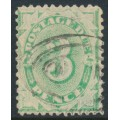 AUSTRALIA - 1903 3d emerald Postage Due, perf. 12:11, upright watermark, used – SG # D25w