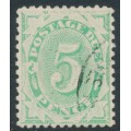 AUSTRALIA - 1902 5d emerald Postage Due, perf. 12:11, upright watermark, used – SG # D27