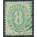 AUSTRALIA - 1904 8d emerald Postage Due, perf. 12:11, inverted watermark, used – SG # D29