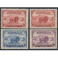 AUSTRALIA - 1934 2d to 9d MacArthur Centenary set of 4, MNH – SG # 150-152+150a
