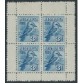 AUSTRALIA - 1928 3d blue Kookaburra Exhibition M/S, MH – SG # MS106a