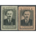 RUSSIA / USSR - 1950 Dimitrov set of 2, MH – Michel # 1475-1476