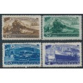 RUSSIA / USSR - 1948 Five Year Plan (Transport) set of 4, MH – Michel # 1252-1255