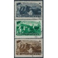 RUSSIA / USSR - 1948 Five Year Plan (Livestock) set of 3, used – Michel # 1256-1258