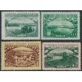 RUSSIA / USSR - 1951 25K to 2R Agriculture set of 4, MH – Michel # 1566-1569
