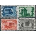 RUSSIA / USSR - 1950 Rebuilding Stalingrad set of 4, MH – Michel # 1480-1483
