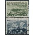 RUSSIA / USSR - 1949 Bering Strait set of 2, used – Michel # 1316-1317
