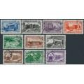 RUSSIA / USSR - 1950 Uzbekistan SSR & Turkmenistan SSR sets, used – Michel # 1432-1441
