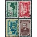 RUSSIA / USSR - 1950 Anniversary of The Estonian SSR set of 4, used – Michel # 1503-1506