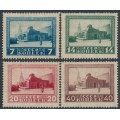 RUSSIA / USSR - 1925 Death of Lenin set of 4, perf. 13½, MH – Michel # 292A-295A