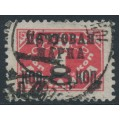 RUSSIA / USSR - 1927 8Kop on 1K Postage Due (lithograph), perf. 12, no watermark, used – Michel # 317IA