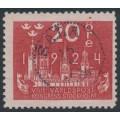 SWEDEN - 1924 20öre red World Postal Congress, used – Facit # 199