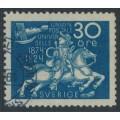 SWEDEN - 1924 30öre dark blue UPU Anniversary, used – Facit # 216a