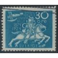 SWEDEN - 1924 30öre greenish blue UPU Anniversary, used – Facit # 216b