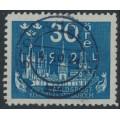 SWEDEN - 1924 30öre dark blue World Postal Congress, used – Facit # 201a