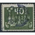 SWEDEN - 1924 40öre olive-green World Postal Congress, used – Facit # 203