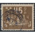 SWEDEN - 1924 45öre brown World Postal Congress, used – Facit # 204