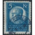 SWEDEN - 1924 5Kr. blue World Postal Congress, used – Facit # 210