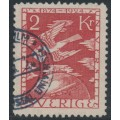SWEDEN - 1924 2Kr. red UPU Anniversary, used – Facit # 224