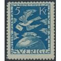 SWEDEN - 1924 5Kr. blue UPU Anniversary, mint hinged – Facit # 225