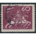 SWEDEN - 1924 60öre red-lilac UPU Anniversary, used – Facit # 221
