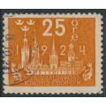 SWEDEN - 1924 25öre orange World Postal Congress, used – Facit # 200