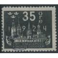 SWEDEN - 1924 35öre grey-black World Postal Congress, used – Facit # 202