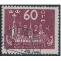 SWEDEN - 1924 60öre red-lilac World Postal Congress, used – Facit # 206