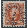 SWEDEN - 1896 15öre red-brown Oscar II, used – Facit # 55a