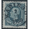 SWEDEN - 1891 50öre blue-grey Oscar II, used – Facit # 59c