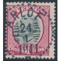 SWEDEN - 1900 1Kr carmine-rose/grey Oscar II, used – Facit # 60a
