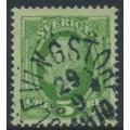 SWEDEN - 1891 10öre carmine Oscar II, used – ÖLFVINGSTORP 29 IX 1909 stämpel (H-län)