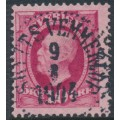 SWEDEN - 1891 10öre carmine Oscar II, used – SKYTTS VEMMERLÖF 9 VIII 1904 stämpel (M-län)