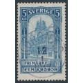 SWEDEN - 1903 5Kr blue Stockholm GPO, used – Facit # 65