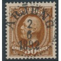 SWEDEN - 1891 30öre yellowish brown Oscar II, used – Facit # 58a