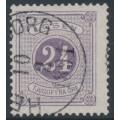 SWEDEN - 1884 24öre bluish lilac Postage Due (Lösen), perf. 13, used – Facit # L17b